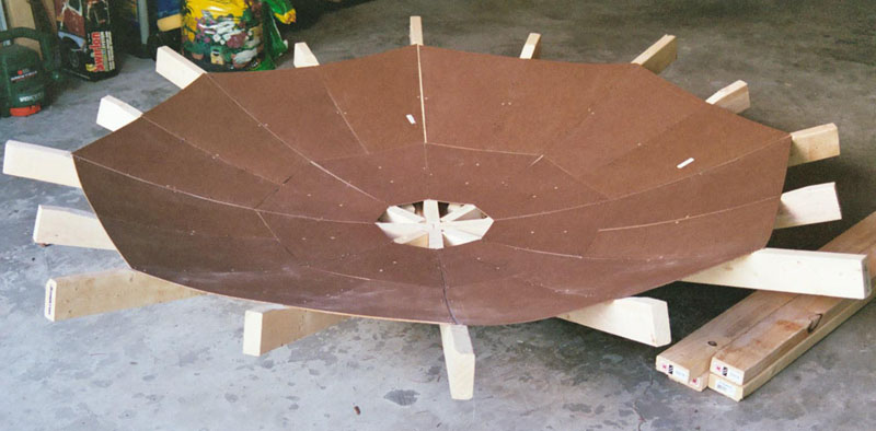 how to make a powerful parabolic mirror